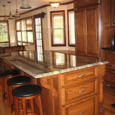 Traditional Kitchen by Mary Hogrebe  Designs