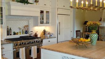 Custom cabinets for a custom house
