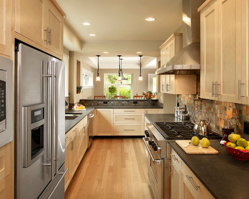 Earth tone backsplash ideas pictures remodel and decor for Earthy kitchen ideas