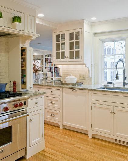 Traditional Kitchen by David Sharff Architect, P.C.