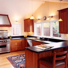 kitchen by Mueller Nicholls Cabinets and Construction