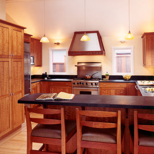 Custom Cherry Wood Cabinets