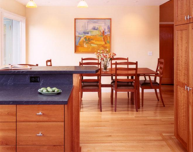Craftsman Kitchen by Mueller Nicholls Cabinets and Construction