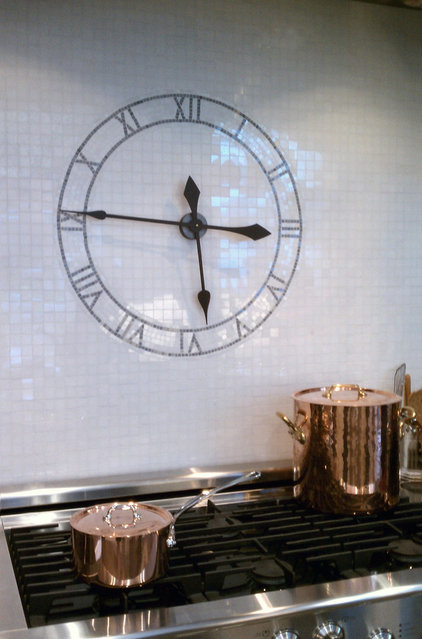 Contemporary Kitchen by New Ravenna Mosaics