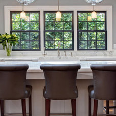 Transitional Kitchen by Inplace Studio