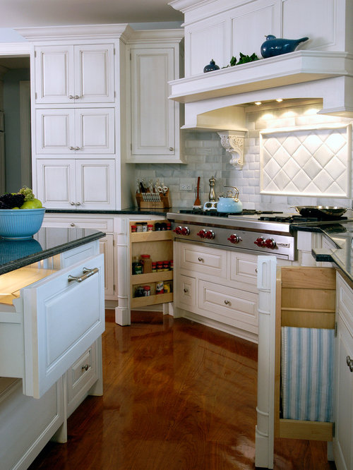 Grand French Country Inset Door White Cabinet Kitchen