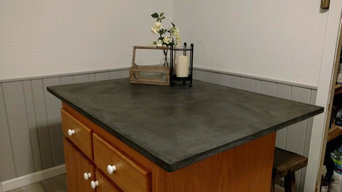 Custom Concrete Countertops and Sinks