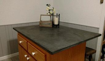 Custom Concrete Countertops and Sinks