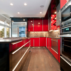 Contemporary Kitchen by Carl M. Hansen Companies