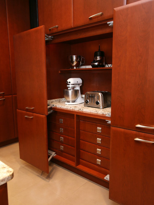 Appliance Garage Kitchen Cabinet Houzz