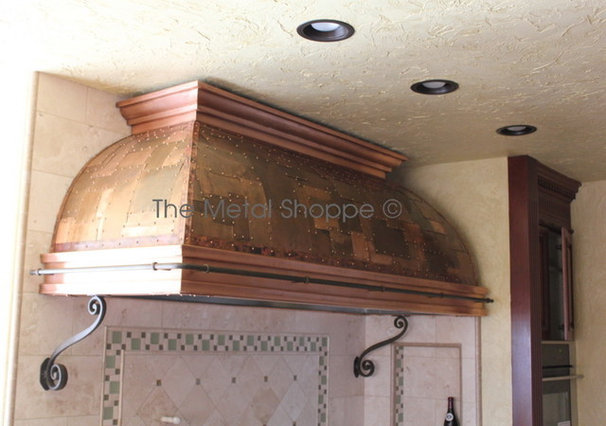 Kitchen by The Metal Shoppe, Custom Metal Design, Fabrication