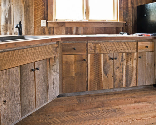 Barn Wood Cabinet | Houzz