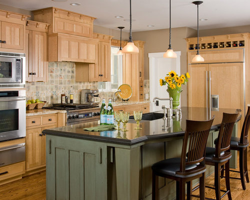 contrasting cabinet colors home design ideas renovations wood kitchen cabinets contrasting white island modern