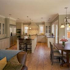 Craftsman Kitchen by JCA ARCHITECTS