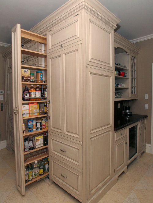 Slim Pullout Pantry Home Design Ideas Pictures Remodel And Decor