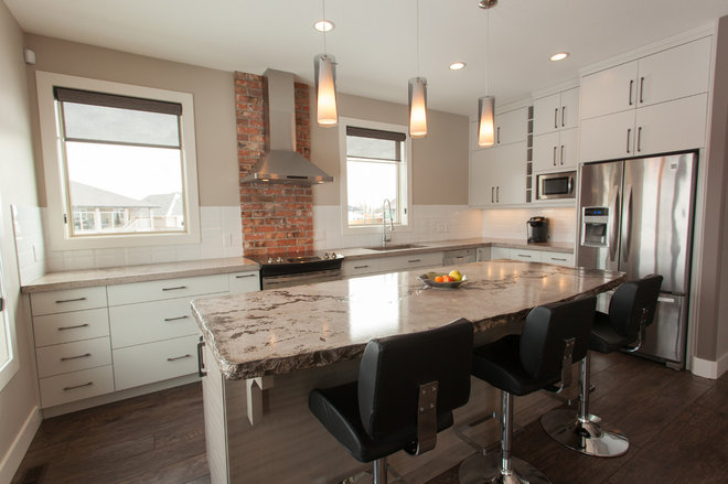 Contemporary Kitchen by Matters of Design Inc.