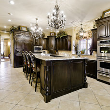Traditional Kitchen by Celtic Custom Homes