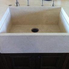 Modern Kitchen by Chisel Marble & Granite