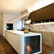 Contemporary Kitchen by EcoModern Design