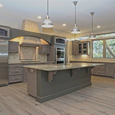 Transitional Kitchen by CCB Designs