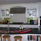 Tongue And Groove Wainscot Backsplash Traditional Kitchen Portland By Designer 39 S Edge