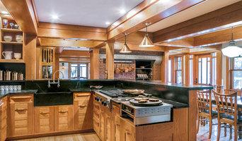 Custom Greene & Greene Inspired Kitchen