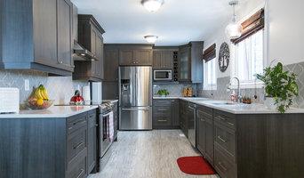 Custom Grey Kitchen