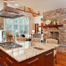 Eclectic Kitchen by R.A.Hoffman Architects, Inc.