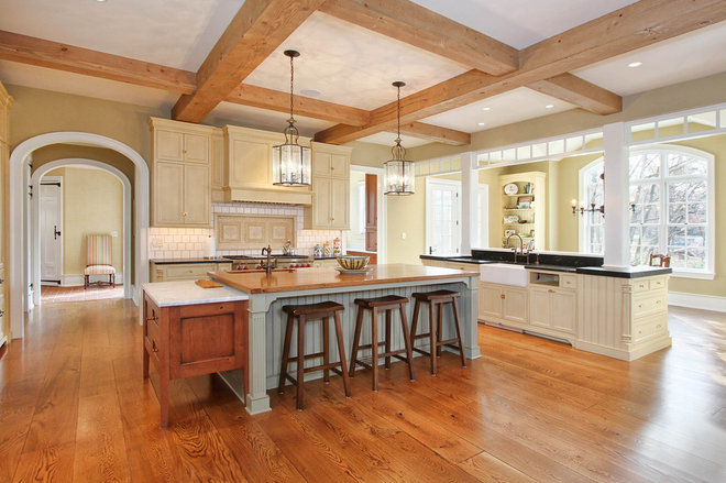Traditional Kitchen by R.A.Hoffman Architects, Inc.