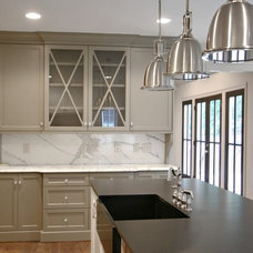 Contemporary Kitchen by Fitzgerald Construction