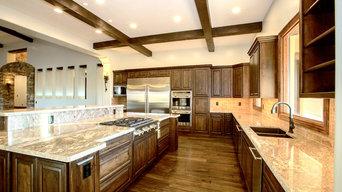 Custom Home Chefs Kitchen