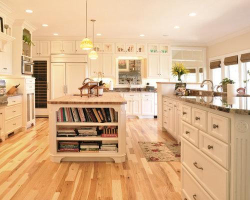 Natural Hickory Floor | Houzz