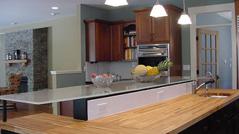 Custom home gourmet kitchen