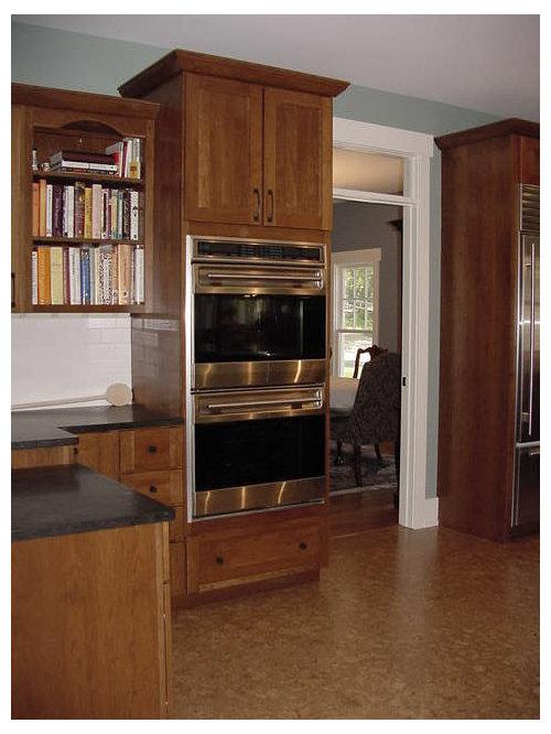 Ideas para cocinas | Fotos de cocinas con encimera de vidrio y suelo ...