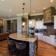 Contemporary Kitchen by Brown Wegher Construction