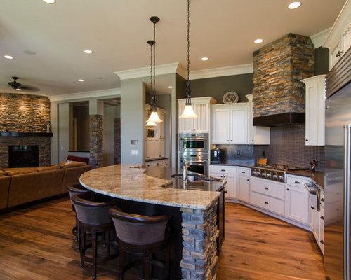 Round Kitchen Island Home Design Ideas, Pictures, Remodel ...