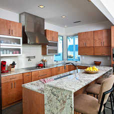 Contemporary Kitchen by The Allen Group Inc