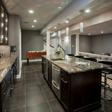 Contemporary Kitchen by Hellings Builders