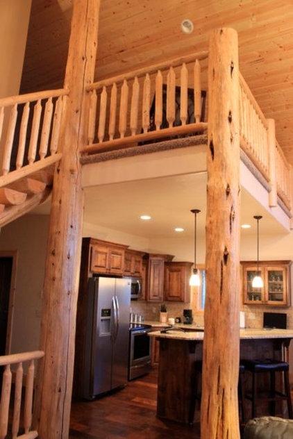 Rustic Kitchen by Platinum Construction