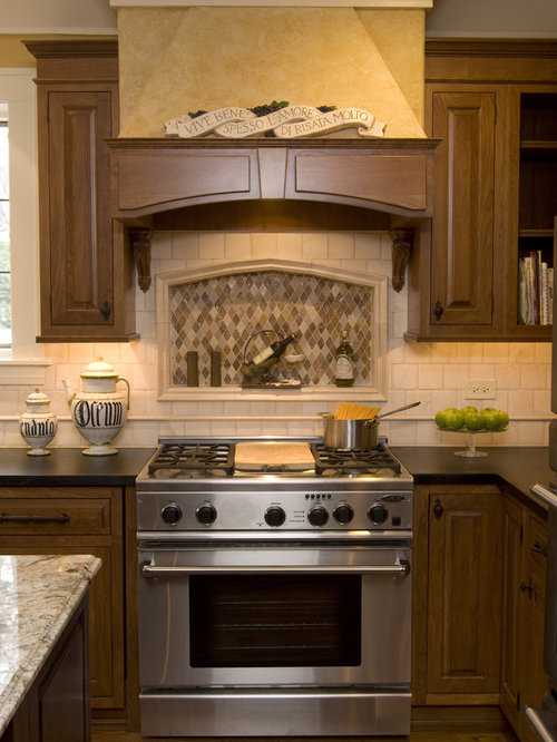 Recessed Backsplash Ideas Pictures Remodel And Decor