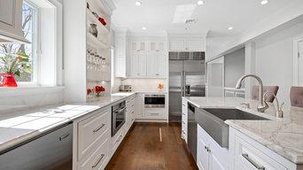 Custom Inset Kitchen Renovation Essex Fells NJ