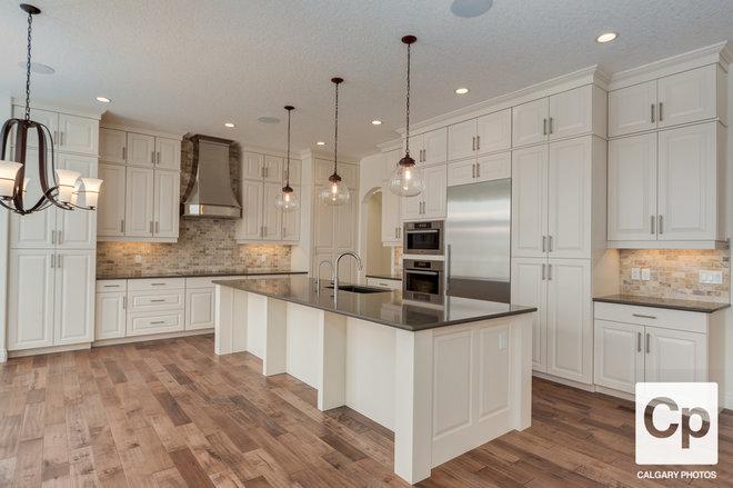 Craftsman Kitchen by Trickle Creek Custom Homes