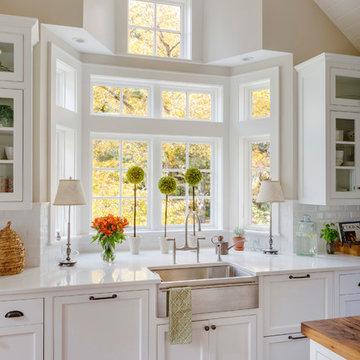 Custom kitchen and family room remodel, Sudbury, MA