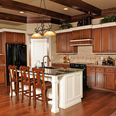 Traditional Kitchen by Prestige Custom Cabinetry & Millwork, Inc.