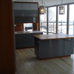 Custom Kitchen Cabinetry -
