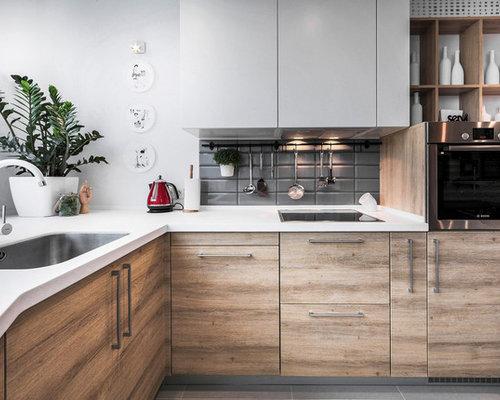 Modern Custom Kitchen modern custom cabinets | houzz