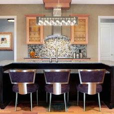 Modern Kitchen by David Schaf Interiors, LLC