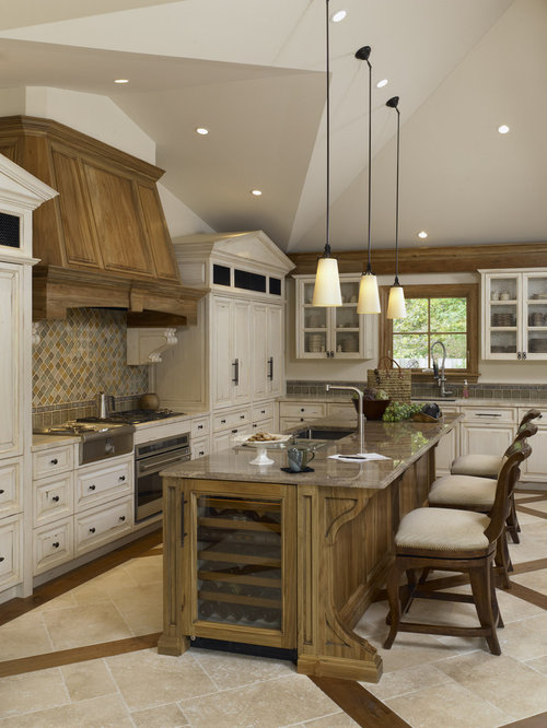 Wine Cooler In Island Home Design Ideas Pictures Remodel And Decor