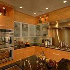 Brazilian Cherry In Kitchen Contemporary Kitchen