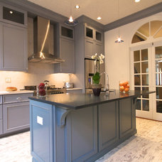 Traditional Kitchen by Hoboken Cabinetry